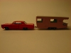 Matchbox Lesney Pontiac Grand Prix und Trailer Caravan