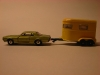 Matchbox Lesney Mercury Cougar und Pony Trailer