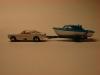 Matchbox Lesney Ford Mustang und Bootsanhänger No 69