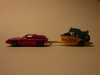 Matchbox Lesney Lotus Europa und Honda Motorcycle Trailer