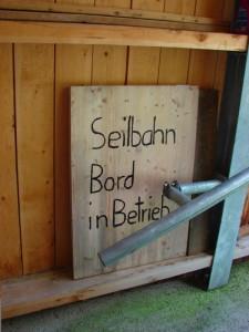 Schild Bord