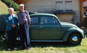 Ruefers und ihr VW Käfer