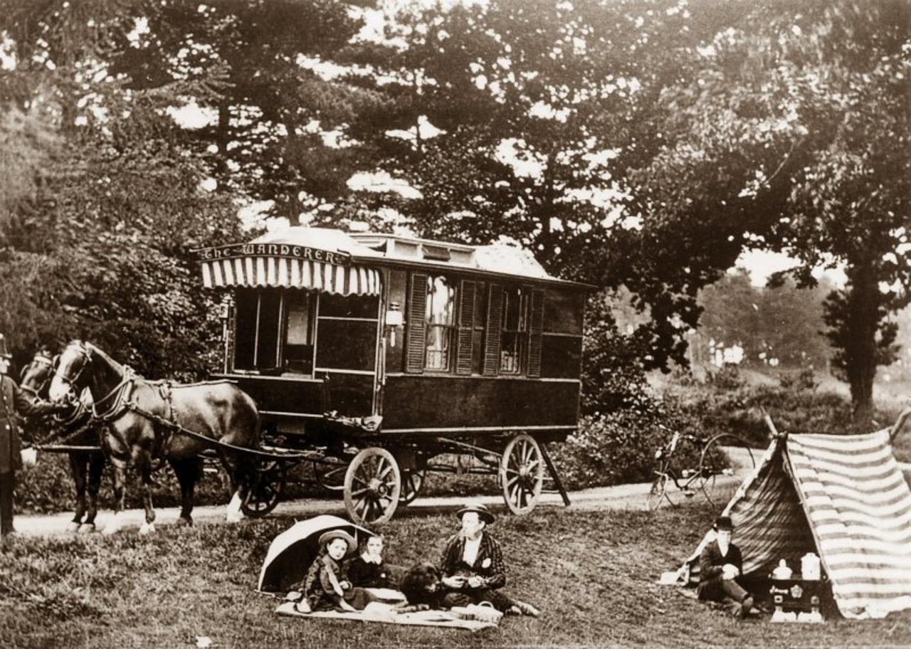 Der erste Wohnwagen